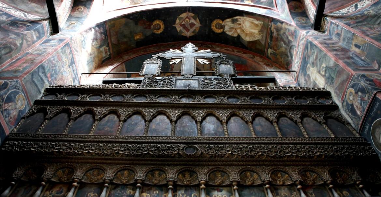 Catapeteasmă - Sfânta Mănăstire Mamu