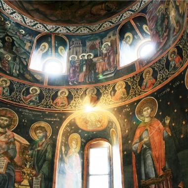 Frescă - Sfânta Mănăstire Mamu